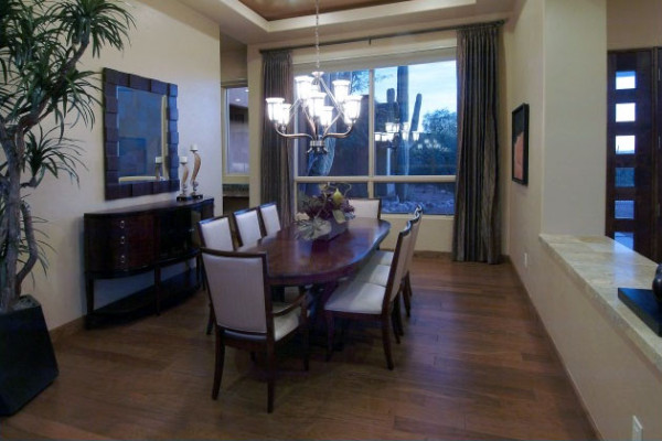 Dining living room designlines az for Dining room design examples