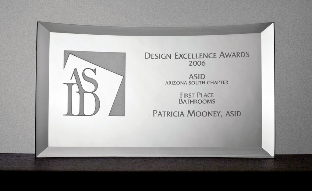 ASID Design Excellence Award First Place - Bathrooms