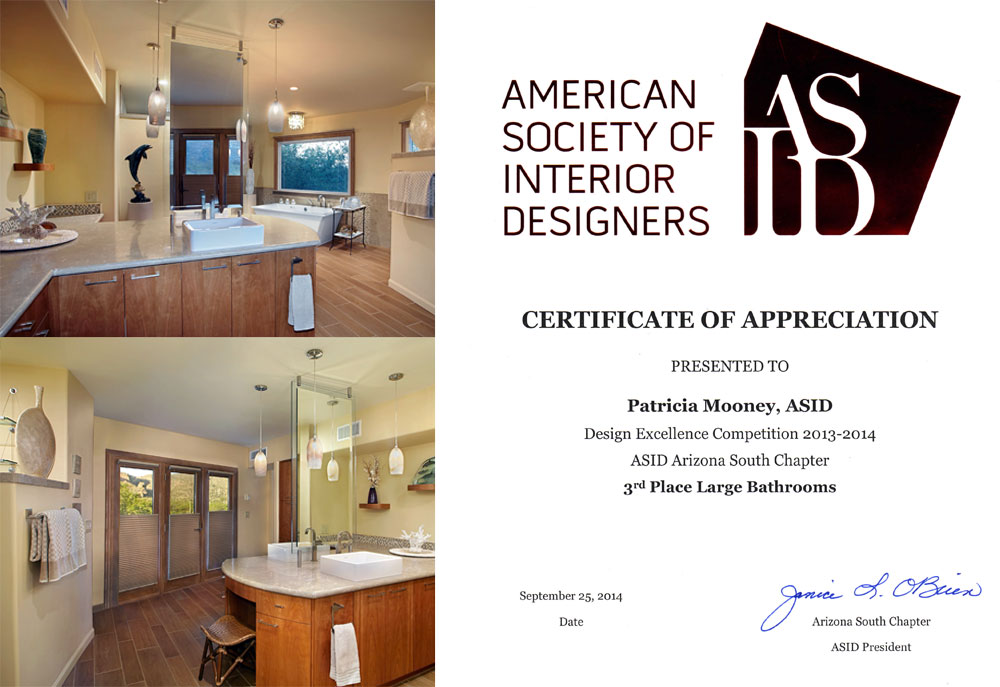2014 ASID Award Bathrooms