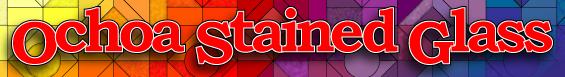 Ochoa Stained Glass logo