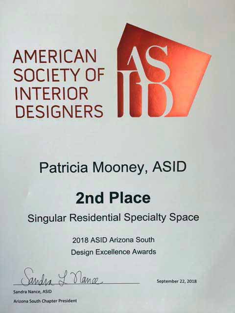 ASID 2018 Second Place