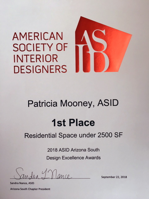 ASID 2018 First Place Res Spave under 2K sf
